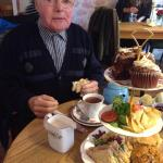 My little grandad loves the teahouse and tea bees!