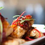 seabass with chilli-garlic and tamarind sauce