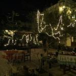 Magical courtyard