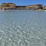 albergo visto dal mare