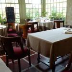 The homelike restaurant room
