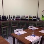 L'esposizione dei vini!