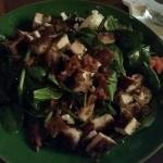 Mostly Spinach Salad