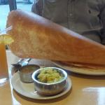 Must try paper masala dosa