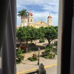The view from our room facing the main square.