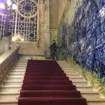 Escadaria do palácio