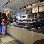 Counter Area at Panera Strongsville