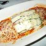 Fabulous Vegetarian Lasagna (Wish they offered Vegan)