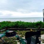 Waterfront campsites