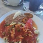 Nopales con huevos were delicious