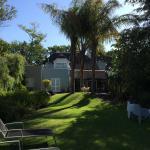 Guesthouse und Garten