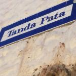 the quaint 'streets' of San Blas