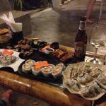 Best sushi around, so fresh & wonderful service!