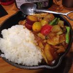 一日分の野菜カレー(大盛)