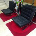 recepcion con sillas Barcelona
