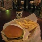A below average Cheese Burger.