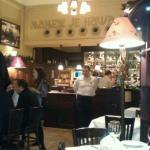 Interior of the Manjez Restaurant,Belgrade,Serbia