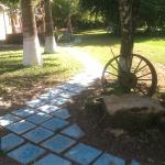 I guess the tiles and the walking path is ready by now:)