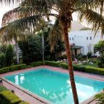 piscine vue de la chambre