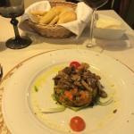 antipasto di verdure al tartufo