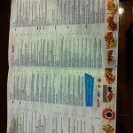 New Fish Market menu