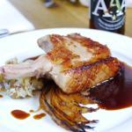 Duroc Pork Chop & Gusswerk Austrian Amber Ale