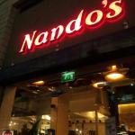 Outside of nandos