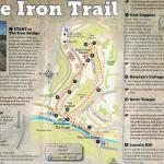 Iron Trail walk - X marks Foundry Master's House