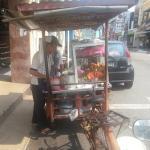 Lobak stall opposite hotel