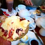 Lovely clotted cream tea. Just perfect! Wonderful little place with warm, friendly service