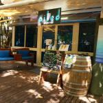 Oiled Green Island Salon
