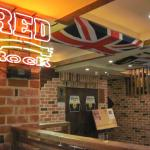The best bit about the whole place - The Union Jack!
