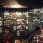 Anomali coffee menu