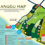map of Canggu