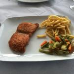 Pork escalope