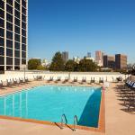 Ramada Plaza Atlanta Downtown Roof Top Pool area