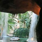 grotta nel interno del hotel