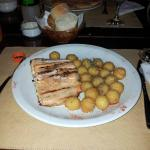 Salmon y papas Noissette