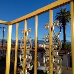 Character and Style in Indio: View from Ultra-Cool Balcony