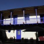Le balcon sur la cour