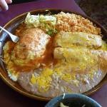 Relleno, Tamale & Enchilada Platter...