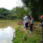 pêche bord de riviere