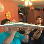 5 foot burrito