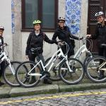 Bikes que alugamos para um passeio em Porto e pela orla do Douro e Praias