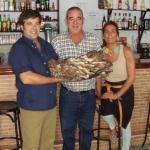 Seta de chopo cogida por nuestro paisano Eugenio