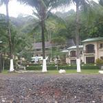 Beach and Hotel