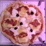 Pizza tartiflette (pâte à pizza maison)