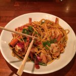 Asian Prawn and Noodles