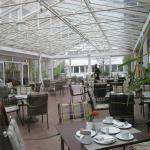 this was adjoining the main restaurant, bright and airy