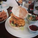 """The double cheese burger from the specials board- """"not for the faint hearted!"""""""
